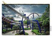 Rollercoaster Amusement Park Ride Carry-all Pouch