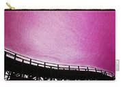 Rollercoaster In Pink Carry-all Pouch