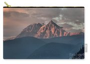 Rolling Hills And Purple Tantalus Peaks Carry-all Pouch