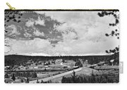 Rollinsville Colorado Small Town 181 In Black And White Carry-all Pouch