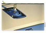 Rolls-royce Hood Ornament 3 Carry-all Pouch by Jill Reger