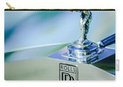 Rolls-royce Hood Ornament -782c Carry-all Pouch