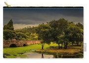 Roman Bridge By The Lake Carry-all Pouch