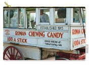 Roman Chewing Candy Wagon In New Orleans Carry-all Pouch