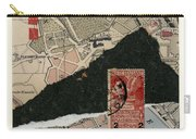 Roman Map Collage Carry-all Pouch