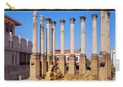 Roman Temple In Cordoba Carry-all Pouch