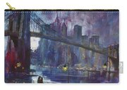 Romance By East River Nyc Carry-all Pouch
