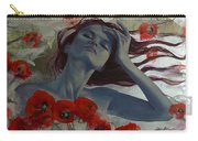 Romance Echo Carry-all Pouch by Dorina  Costras