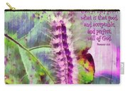 Romans 12 2 Carry-all Pouch by Michelle Greene Wheeler