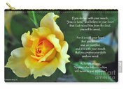Romans Yellow Rose Carry-all Pouch
