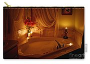 Romantic Bubble Bath Carry-all Pouch by Kay Novy
