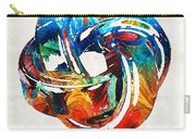 Romantic Love Art - The Love Knot - By Sharon Cummings Carry-all Pouch