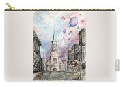 Romantic Montreal Canada - Watercolor Pencil Carry-all Pouch