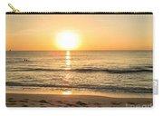 Romantic Ocean Swim At Sunrise Carry-all Pouch