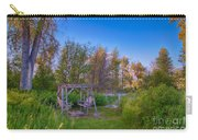 Romantic View By The Methow River Carry-all Pouch