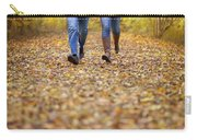 Romantic Woodland Walk In Autumn Carry-all Pouch
