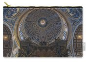Rome Saint Peters Basilica Interior 01 Carry-all Pouch