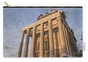 Rome Temple Of Antoninus And Faustina 01 Carry-all Pouch