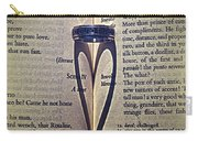 Romeo And Juliet  Carry-all Pouch by Stelios Kleanthous