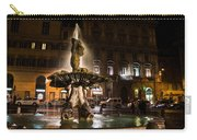 Rome's Fabulous Fountains - Fontana Del Tritone Carry-all Pouch
