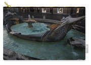Rome's Fabulous Fountains - Fontana Della Barcaccia - Spanish Steps  Carry-all Pouch