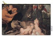 Romulus And Remus Carry-all Pouch