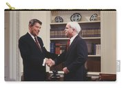 Ronald Reagan And John Mccain Carry-all Pouch