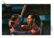 Ronaldinho And Eto'o Carry-all Pouch