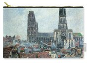 Roofs Of Old Rouen Grey Weather  Carry-all Pouch