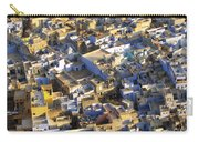 Rooftops In India Carry-all Pouch
