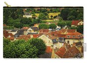 Rooftops In Sarlat Carry-all Pouch by Elena Elisseeva