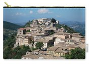 Rooftops Of The Italian City Carry-all Pouch