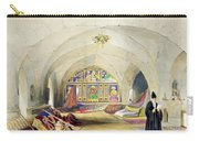 Room In An Armenian Convent Carry-all Pouch by A. Margaretta Burr