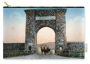 Roosevelt Arch Yellowstone Np Carry-all Pouch