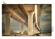 Roosevelt Bridge-1 Carry-all Pouch by Rudy Umans