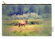 Roosevelt Bull Elk Carry-all Pouch