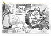 Roosevelt Cartoon, 1908 Carry-all Pouch by Granger