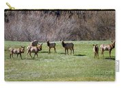 Roosevelt Elk Carry-all Pouch