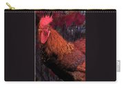 Rooster In October Carry-all Pouch