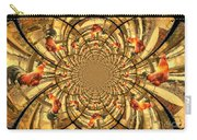 Crowing Rooster Kaleidoscope Carry-all Pouch