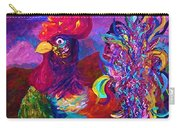 Rooster On The Horizon Carry-all Pouch