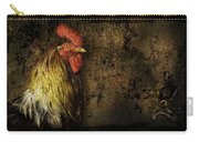 Rooster With Brush Calligraphy Loyalty Carry-all Pouch