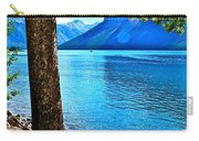 Rooted In Lake Minnewanka Carry-all Pouch