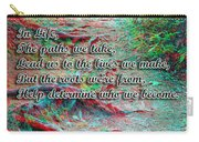 Roots - Use Red/cyan Filtered 3d Glasses Carry-all Pouch