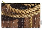 Rope And Net Carry-all Pouch