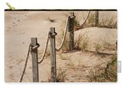 Rope And Wooden Fence Carry-all Pouch