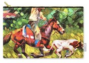 Roping A Runaway Carry-all Pouch