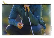 Rory Mcilroy  Lines Up A Birdie Putt  Carry-all Pouch