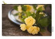 Rosa Banksiae Lutea Carry-all Pouch