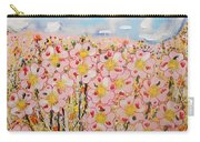 Rosa Ruby Flower Garden Carry-all Pouch